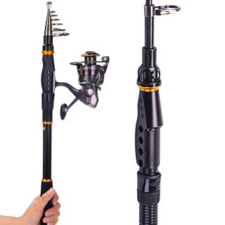 Saltwater fishing rods reviewed and compared for Freshwater fishing rods